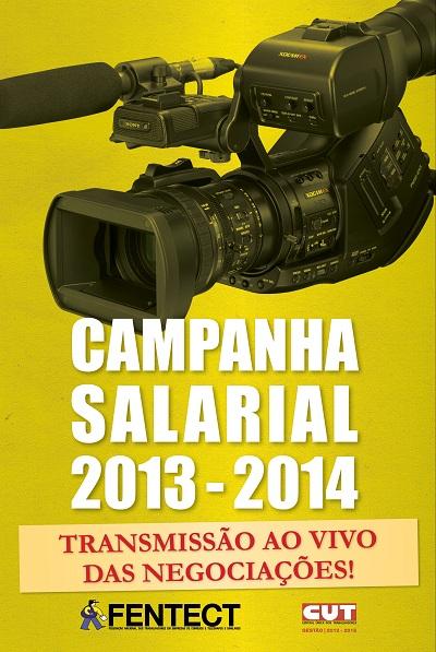 campanha salarial - cartaz - face